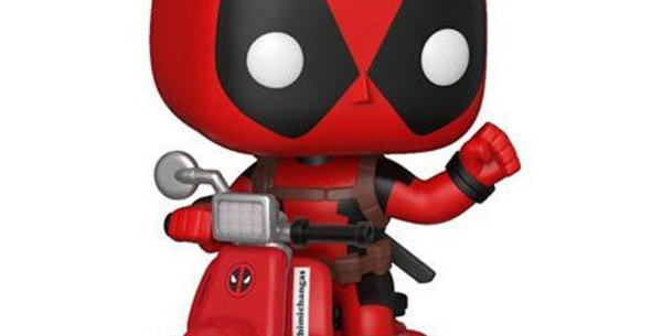 Funko POP Deadpool 48 Deadpool on scooter