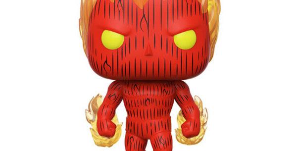 Funko POP! Marvel Fantastic Four #559 Human Torch