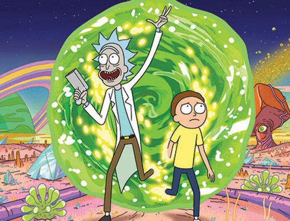 718 Rick and Morty (Portal)