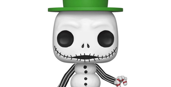 Funko POP! L'Etrange Noël De Monsieur Jack #448 Snowman Jack