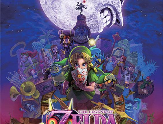 The Legend Of Zelda (Majora's Mask) REF:639