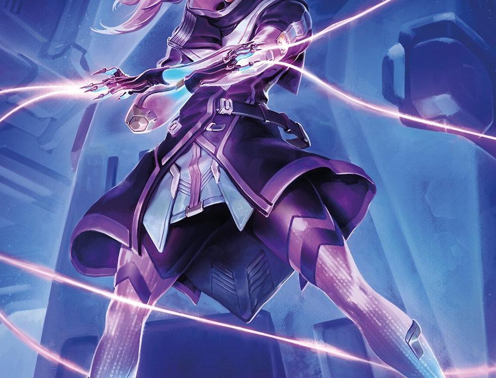 #625 Overwatch Sombra Poster plastifié