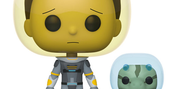 Funko POP! Rick and Morty #690 Space Suit Morty with Snake