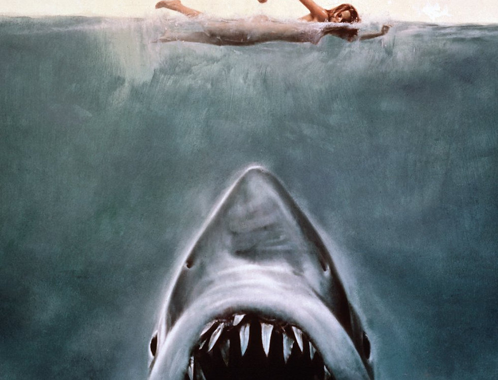 Poster plastifié 779 Les Dents de la mer JAWS Key Art