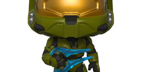 Funko POP! Figurine HALO 11 Master Chief with Energy Sword