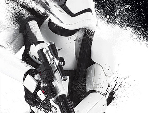 Star Wars Episode VII (Stormtrooper Paint) REF:606