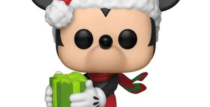 Funko POP Disney Mickey 90 ans #455 Holiday Mickey