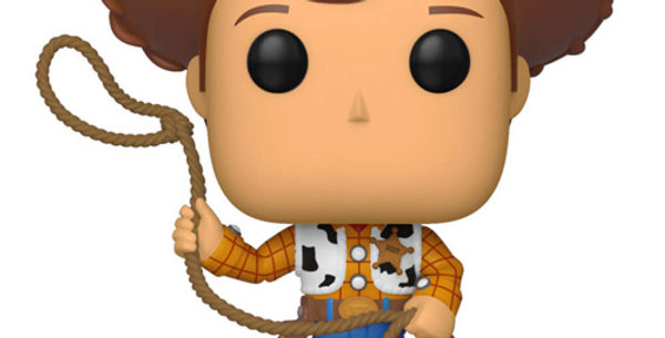 Figurine Funko POP Disney Toy Story 4 Sheriff Woody 522