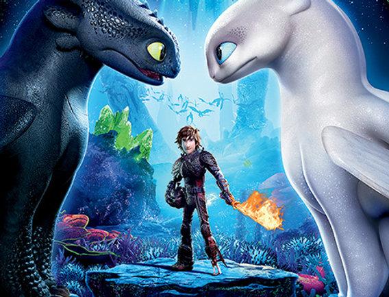 Poster plastifié 514 Dragons 3 : Le monde caché