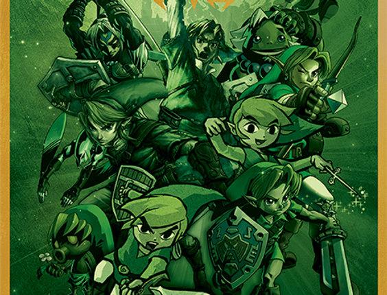 The Legend Of Zelda (Link) REF:618