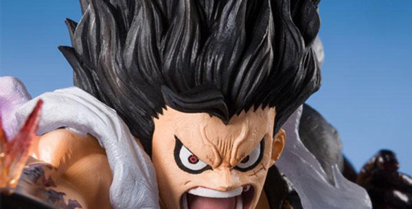 One Piece statuette PVC FiguartsZERO Monkey D. Luffy Gear 4 Snakeman King Cobra