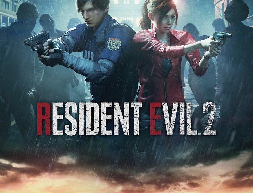 Poster plastifié 694 Resident Evil 2  City Key Art