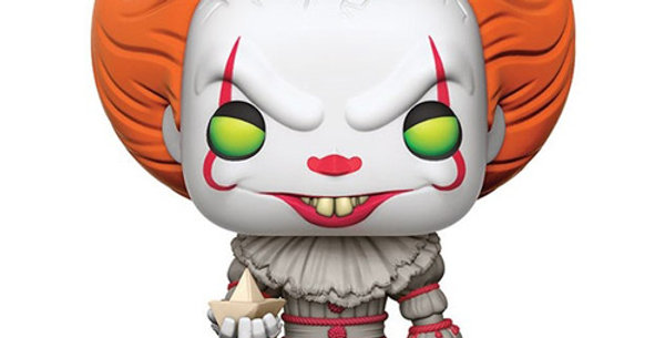 Funko POP! IT #472 Pennywise with boat