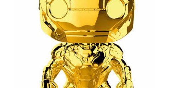 Marvel Studios 10 POP! 375 Marvel Vinyl figurine Iron Man (Chrome) 9 cm