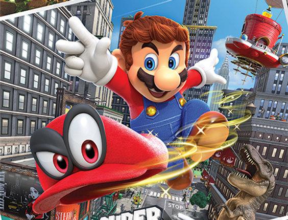 Super Mario Odyssey (Collage) REF:630