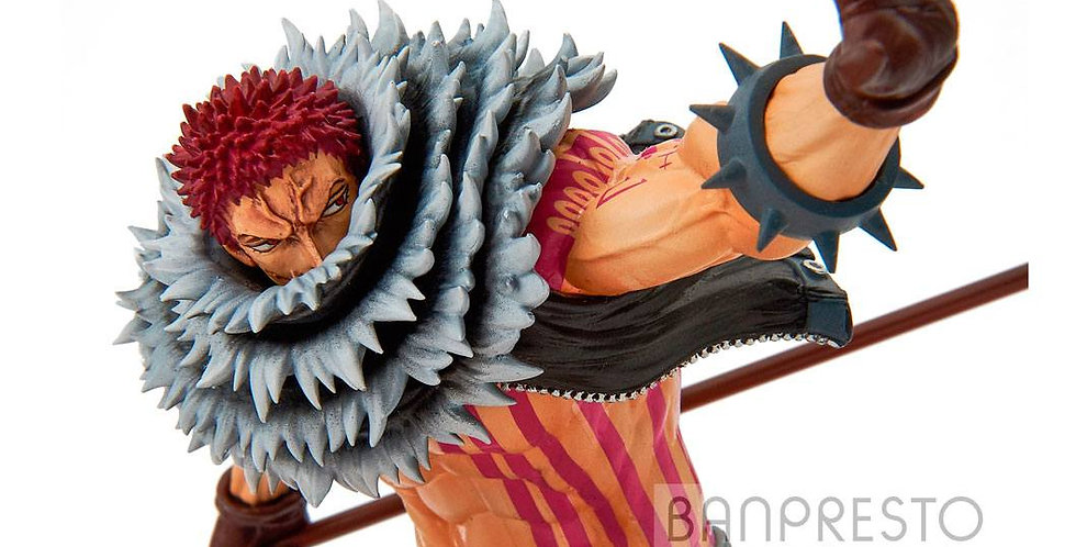 One Piece statuette PVC BWFC Charlotte Katakuri Normal Color Ver. 22 cm