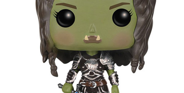 Figurine POP 286 Movies Warcraft Garona