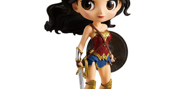 DC Q Posket Justice League Wonder Woman 14cm
