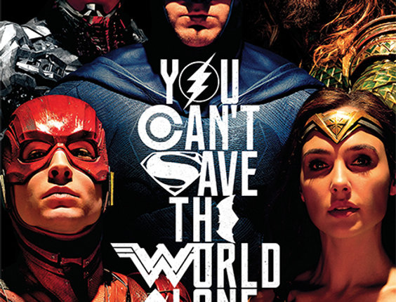 Justice League Movie (Save The World)