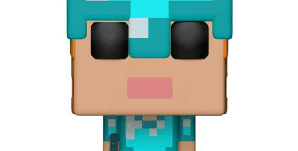 Funko POP! Minecraft 323 Alex in Diamond Armor Exclusive