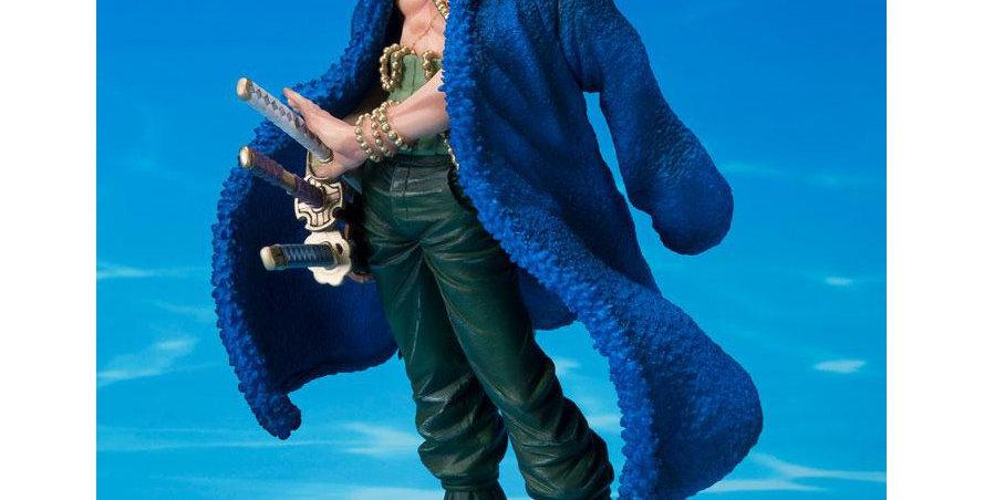 One Piece statuette PVC FiguartsZERO Roronoa Zoro 20th Anniversary Ver. 15 cm
