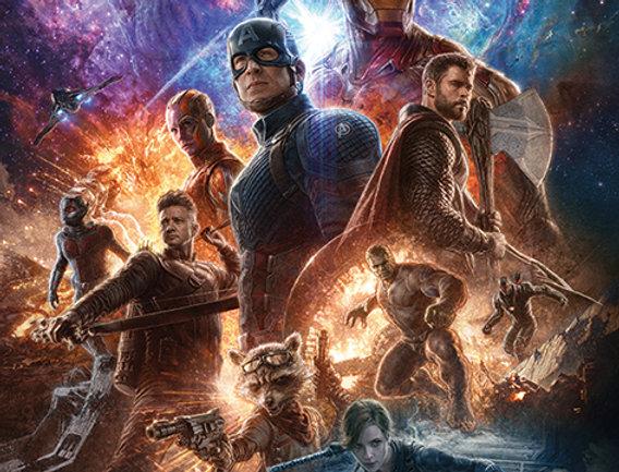 Poster plastifié 595 Avengers: Endgame (From The Ashes)