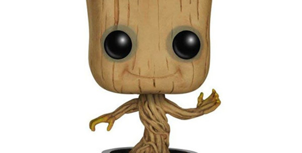 Funko POP! Les Gardiens de la Galaxie #65 Bobble Head Dancing Groot 10 cm