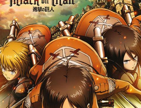 Grand poster ATTACK ON TITAN Attack REF:508