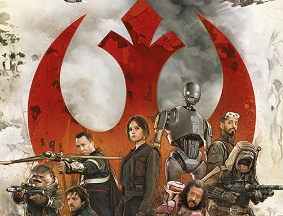 Poster plastifié Star Wars Rouge One REF:604