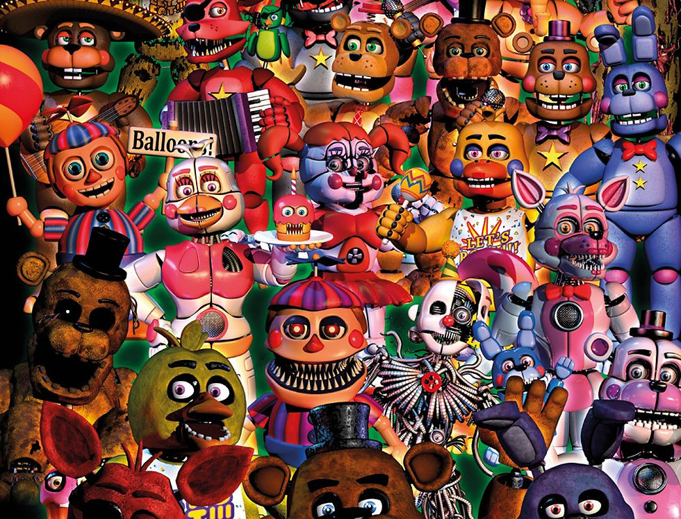 #740 Five Nights at Freddy's Ultimate Group