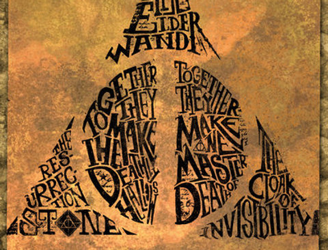 613 HARRY POTTER Deathly Hallows