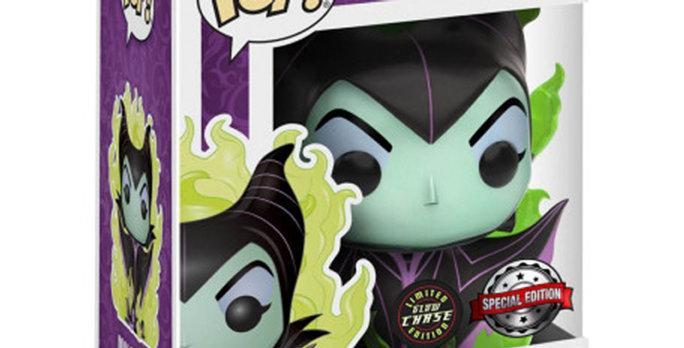 Funko POP Disney 232 Maleficent Maléfique Special edition GLOW CHASE
