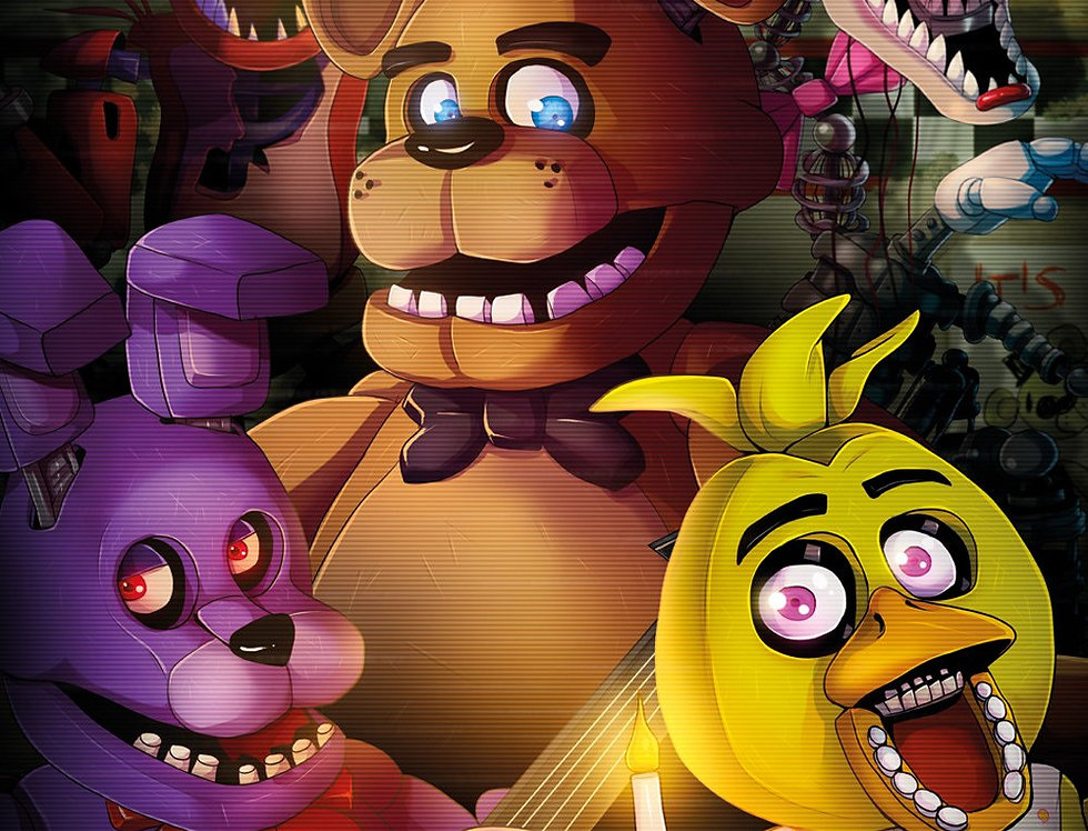 Poster plastifié 513 FIVE NIGHTS AT FREDDY'S Group