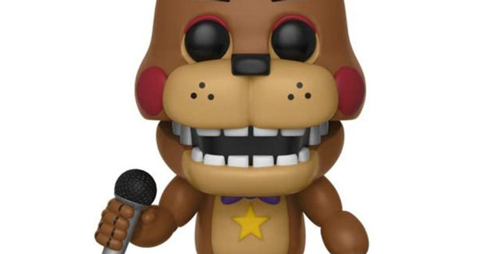 Funko POP Five Nights at Freddy's 362 Rockstar Freddy