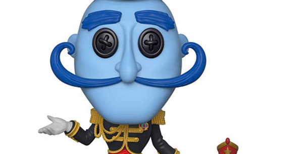 Funko POP Coraline #426 Mr. Bobinsky with mouse