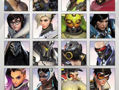OVERWATCH Character Portraits 711
