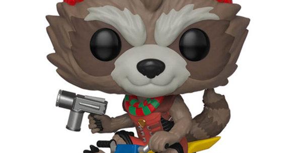 Funko POP Marvel Holiday Rocket 531