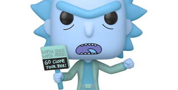 Funko POP! Rick and Morty #659 Hologram Rick Clone