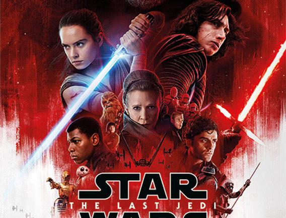 604 Star Wars The Last Jedi (One Sheet)