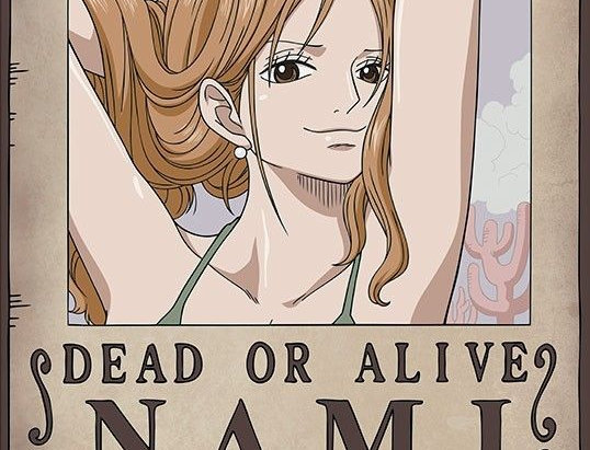 ONE PIECE Poster Wanted Nami