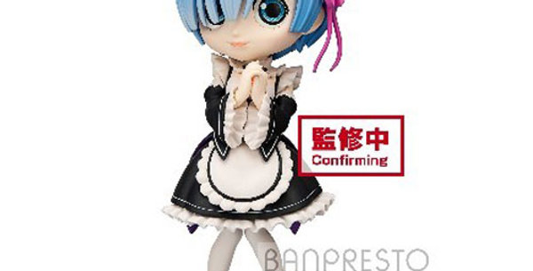 Re:Zero: Q Posket - Starting Life in Another World - Rem - Version A