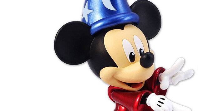 Disney Metalfigs figurine Diecast Sorcerer's Apprentice Mickey 15 cm