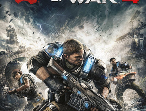 GEARS OF WAR 4 Game Cover REF:576