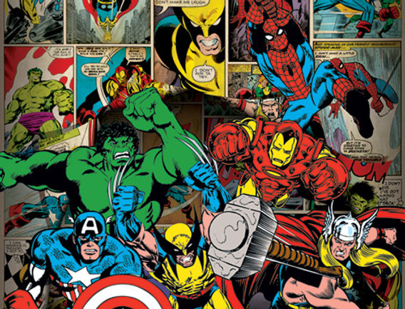 596 Marvel Comics (Here Come The Heroes)
