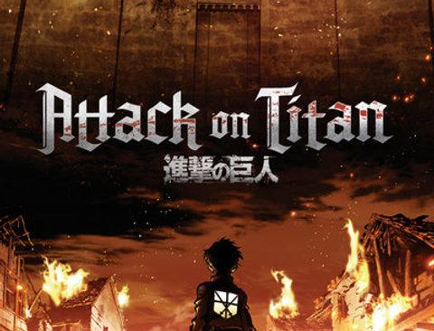 ATTACK ON TITAN Key Art REF:505