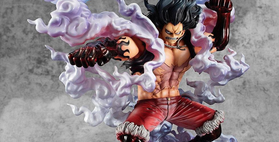 One Piece statuette PVC Excellent Model Monkey D. Luffy Gear 4 Snake Man 26cm