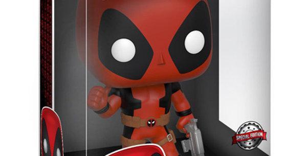 Funko POP! Marvel #544 Thumb Up Red Deadpool 25 cm Super Sized POP