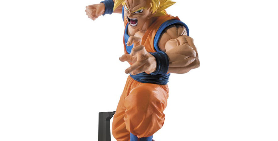 Dragon Ball Super Scultures Big 6 Vol.4 Son Goku 15cm