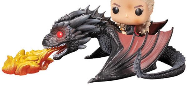 Funko POP! Game of Thrones 68 Daenerys and Fiery Drogon