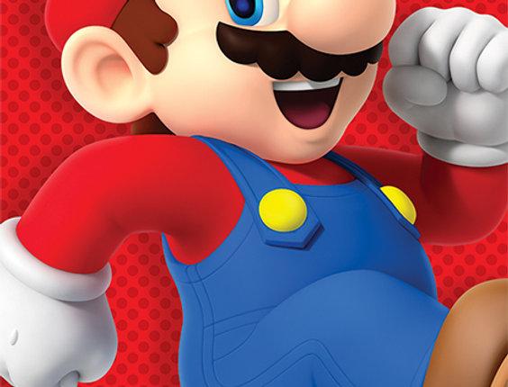 Poster plastifié Super Mario (Run) REF:620